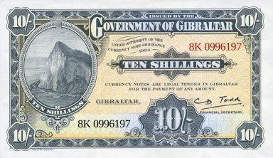   Гибралтар выпустил в продажу сувенирную банкноту для коллекционеров