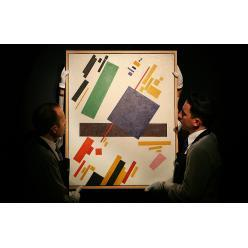 Картина Казимира Малевича «Супрематическая композиция» продана на аукционе в Нью-Йорке за $85,8 млн