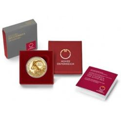 Монета с изображением альпийского козла отчеканена в Австрии