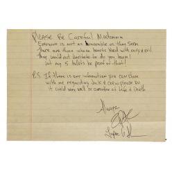 Эмоциональное письмо от рэпера Тупака Шакура к Мадонне попало на аукцион
