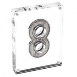 Выпущена монета в форме восьмерки