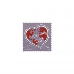  Почта Аландских островов представила марку, посвященную Посткроссингу
