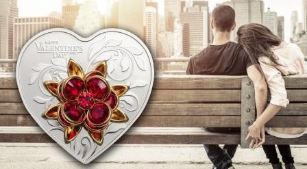 Компания Coin Invest Trust представила монету «День святого Валентина 2019»