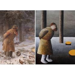 В Киеве открылась выставка работ художника Александра Ройтбурда «Копии для подмены»