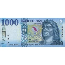 На обновленной банкноте 1000 форинтов будет изображение древней золотой монеты