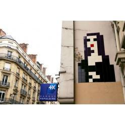 В Париже пропали настенные мозаики