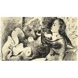 На аукцион выставлен рисунок Пикассо