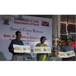 Индия выпустила филателистические новинки в честь Дня йоги