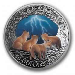 В Канаде отчеканена монета, светящаяся в темноте