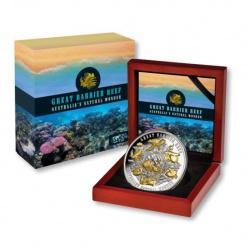Остров Ниуэ представил монету в честь Большого Барьерного рифа