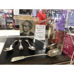 В Канаде выставлен на торги серебряный набор посуды первого премьер-министра