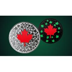 В Канаде появится инвестиционная монета, которая светится в темноте