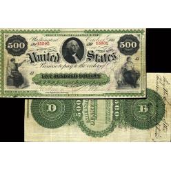 Редкая североамериканская банкнота ушла с молотка за $ 660 000