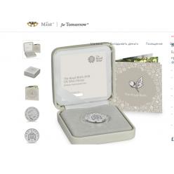 В Великобритании выпущен серебряный пенни по случаю рождения принца Луи Кембриджского