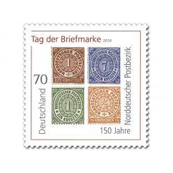 В Германии выпущена марка в честь 150-летия Северо-Германского почтового округа