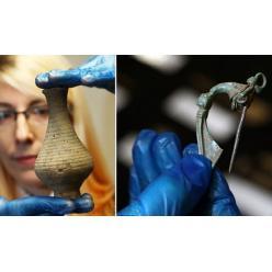 В Англии во время дорожных работ нашли удивительные артефакты
