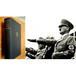 В Великобритании на аукцион выставлен «Майн Кампф» с автографом фюрера