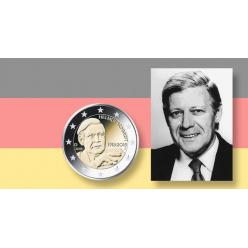 Германия выпустит монеты в честь экс-канцлера