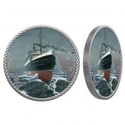 У Канаді представили монету, присвячену пасажирському лайнеру «Принцеса Софія»