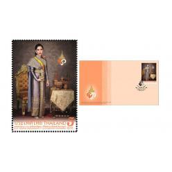 В Таиланде выпустили почтовую марку ко дню рождения принцессы