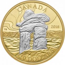 В Канаде будет выпущена в обращение памятная монета, посвященная достопримечательности страны — Инуксусу