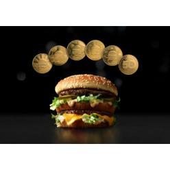 Компания McDonald's представила монеты MacCoin