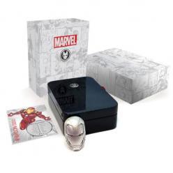 В Австралии представлена монета в форме шлема популярного героя комиксов Iron Man (Железного Человека)