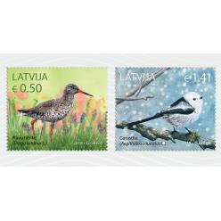 Новые марки из серии «Птицы» выпущены в Латвии