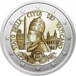  Представлена новая монета в честь 90-летия основания Ватикана