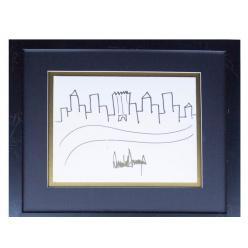 Рисунок Дональда Трампа уйдет с молотка за 9 тысяч долларов США
