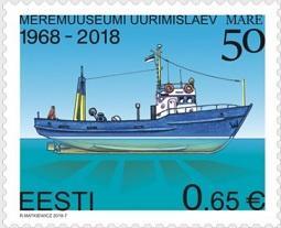 Новую памятную марку представила Эстония