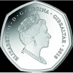 На новых гибралтарских монетах отчеканены Берберские обезьяны