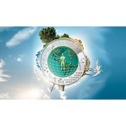 В Австрии анонсирован выпуск памятной монеты, посвященной эпохе Антропоцен