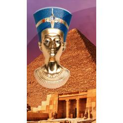 В Берлине представили вторую монету из серии «Египетское искусство 3D»
