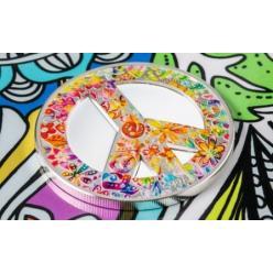Новая монета «Лето любви» от компании СІТ вспоминает движение хиппи