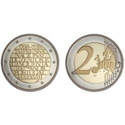В Португалии отчеканены памятные монеты в честь 250-летия национальной типографии