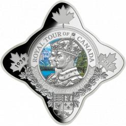У Канаді викарбувана монета на честь 80-річчя першого королівського візиту в країну