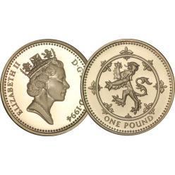 Старые однофунтовые монеты будут выведены из обихода