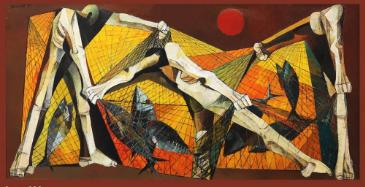 На Филиппинах полотно художника Анга Киукока ушло за рекордную сумму