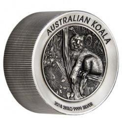 В Австралии выпущена монета весом 2 килограмма