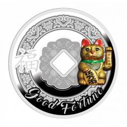 Монета-талисман отчеканена в Польше
