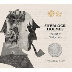 The Royal Mint выпустил памятные монеты к 160-летию со дня рождения Артура Конан Дойля