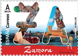 В Испании представлена марка в честь муниципалитета Самора