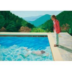 На торги выставлена картина Дэвида Хокни «Портрет художника (Бассейн с двумя фигурами)»
