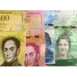 В Венесуэле демонетизированы банкноты образца 2007-2017 гг.