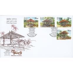 Шри-Ланка выпустила новые марки в честь особенного архитектурного наследия страны