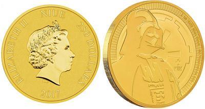 Новая канадская монета посвящена главному герою «Звездных войн»