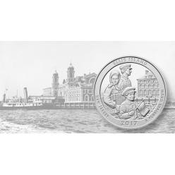 В США официально объявили дату церемонии ввода в оборот памятных 25-центовых монет