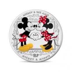 Во Франции отчеканили монеты в честь 90-летия мультипликационного персонажа Микки Мауса