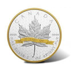 Монета, посвященная главному символу страны, показана в Канаде